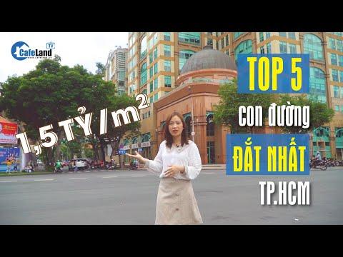 Bất ngờ với TOP 5 con đường có giá trị CAO NHẤT Sài Gòn    CAFELAND