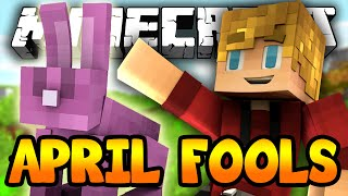 Minecraft April Fools Edition? NEW MINECRAFT UPDATE!
