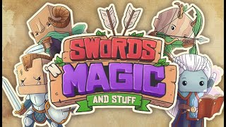 SWORDS 'N MAGIC AND STUFF ⚔️ S01E001: TORK und GORK retten die Welt!!