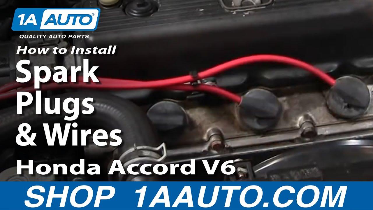 medium resolution of how to replace spark plug wire set 95 97 honda accord