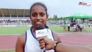 Sadeepa Henderson - Triple gold medalist at the All Island School Games 2017