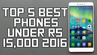 Top 5 Best Smartphone Under Rs 15000 - November 2016