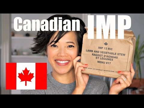 Canada IMP Menu