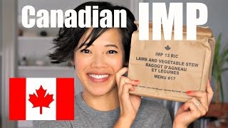 Canada IMP Menu #17 | Canadian Individual Meal Pack MRE Taste Test