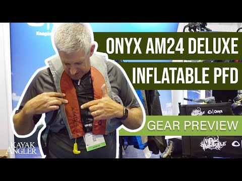 Onyx AM24 Deluxe | Inflatable PFD | Kayak Fishing PFD | Gear Preview