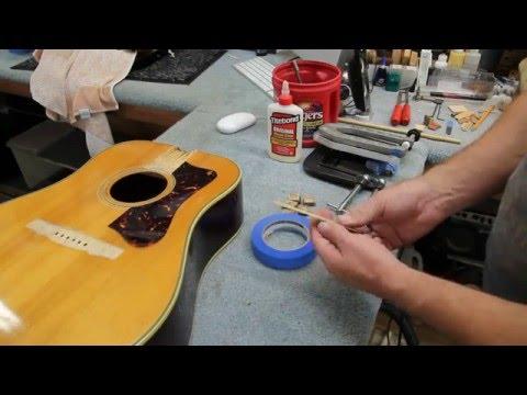 how-i-glue-a-bridge-back-on-an-acoustic-guitar