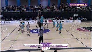 U18M - ESTUDIANTES vs. CB FUENLABRADA - Final Four Junior masc. FBMadrid  2019 (BasketCantera.TV)