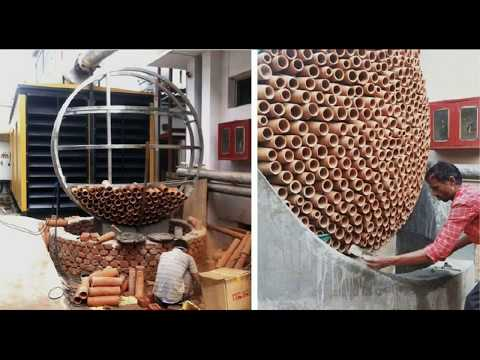 Innovation in india | Low energy and cost efficient air conditioning system designed by Ant Studio