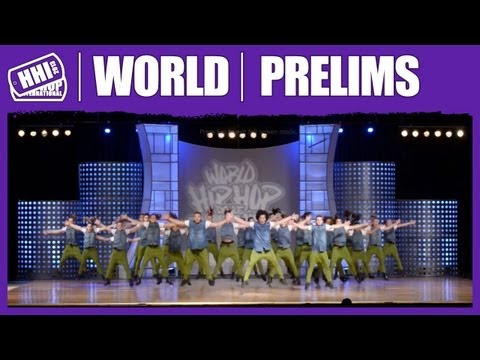 No Escape XXL - The Netherlands (MegaCrew) @ HHI's 2013 World Hip Hop Dance Championship