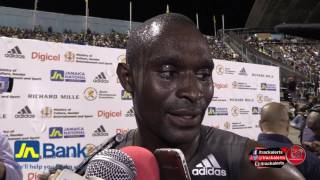 Rudisha follows his dad - 50 years after