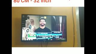 MarQ by Flipkart | 80 CM 32 inch HD LED TV | Unboxing and review