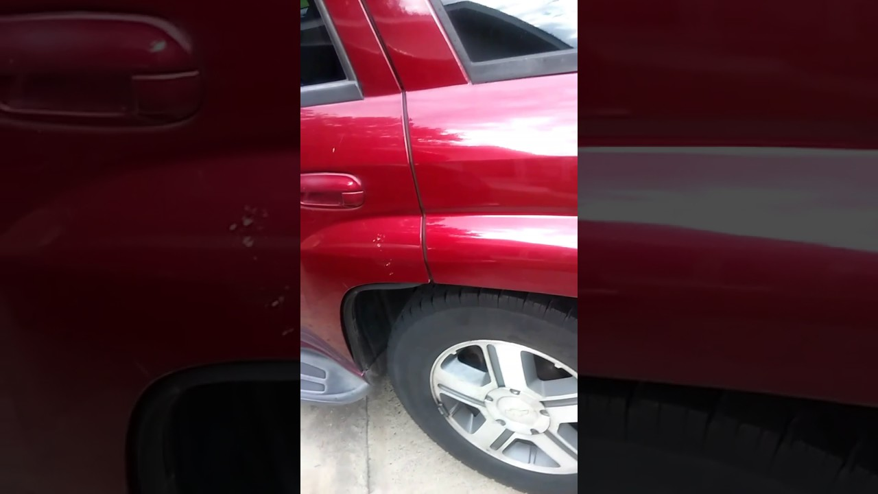 small resolution of rear brake pads replacement on a chevy trailblazer lt