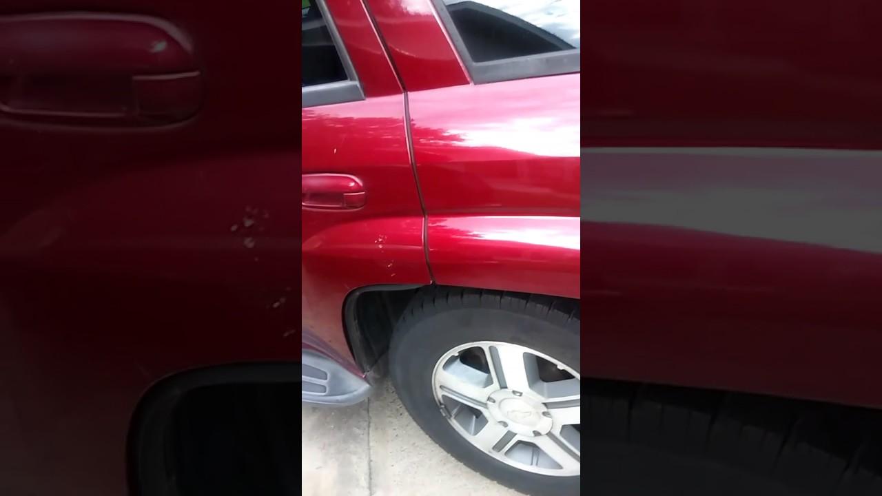 medium resolution of rear brake pads replacement on a chevy trailblazer lt