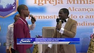 Presbítero Brasileiro recebe recarregamento espiritual e profecia-Ap.Onório