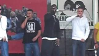 Cooler Hip Hop - Rap aus Berlin - Part 8 - am Brandenburger Tor - 1.5.2010