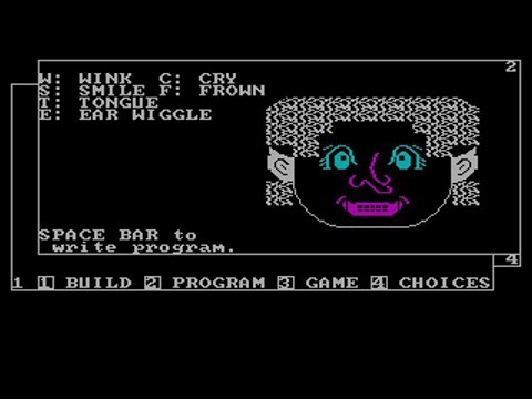 IBM PC 5150 - Face Maker (1982) by Spinmaker Software Corp.