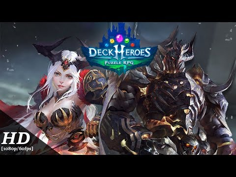 Deck Heroes: Puzzle RPG Android Gameplay