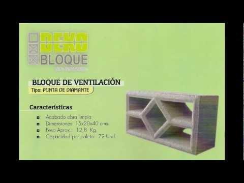 Deko Bloques CA  Bloques de ventilacion u ornamentales  YouTube