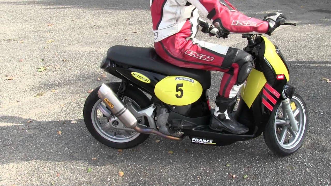 🏍 team pfpi - essais endurance 125 cc 4t arrow exhaust & 50cc