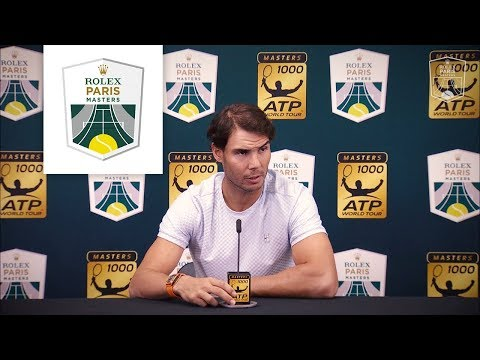 Rafael Nadal announces his withdraw | Rolex Paris Masters 2018