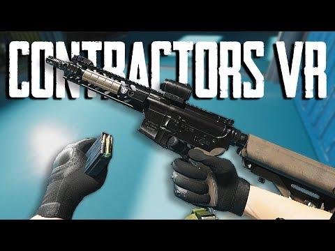 BEST VR SHOOTER OF 2018 • CONTRACTORS VR GAMEPLAY
