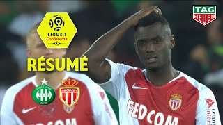AS Saint-Etienne - AS Monaco ( 2-0 ) - Résumé - (ASSE - ASM) / 2018-19