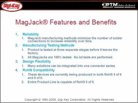MagJack® Connectors