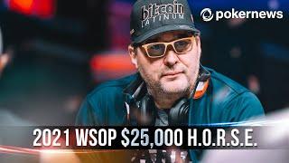 2021 WSOP Day 3 Recap: $25,000 H.O.R.S.E. Event #2