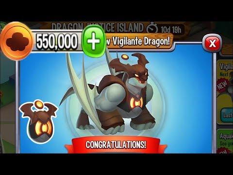 Dragon City - Vigilante Dragon [Dragon Justice Island | Completed 2017]