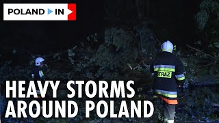 CENTRAL \u0026 SOUTHERN POLAND UNDER THE HEAVY STORMS – Poland In