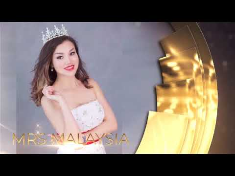 Mrs Asia Pacific Beauty Pageant 2018 - 24 delegates intro video