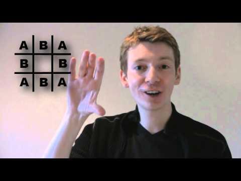 Maths Problem: Complete Noughts and Crosses (Burnside's Lemma)