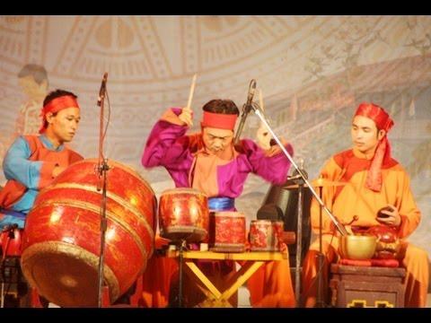 Các làn điệu trống chèo nhà hát chèo Thái Bình