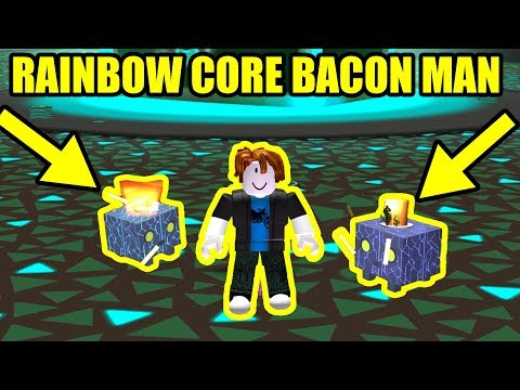 BACON HAIR Gets RAINBOW C0RE SHOCK And Does This... | Roblox Pet Simulator Codes