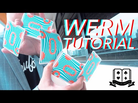 Cardistry for Beginners: Two-handed Cuts - The Werm Tutorial thumbnail