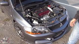 Mitsubishi Lancer Evolution Тест Драйв (Жорик Ревазов)