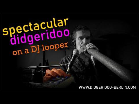 Marc Miethe - Berlin Didgeridoo live looping: