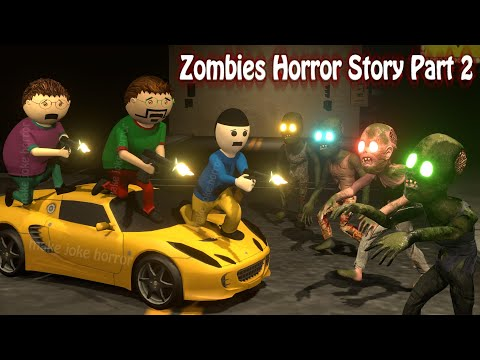 Zombies Horror Story Part 2   Animated Movies   Cartoon Movies   Best Animated Movies   3d Animation