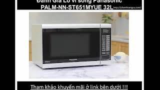 Lò vi sóng Panasonic PALM-NN-ST651MYUE 32L có đáng mua ?