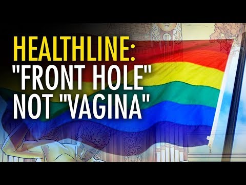 "It's a ""Front Hole"", Not a Vagina, Sexist!"