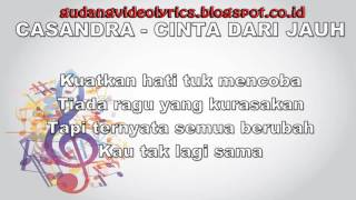 Cassandra   Cinta Dari Jauh Official Video MP3