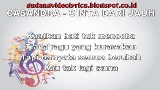 Cassandra   Cinta Dari Jauh Official Video