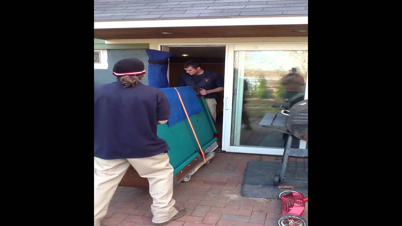 Liberty Bell Moving Storage In Portland Maine Moves A Pool Table - Portland pool table movers