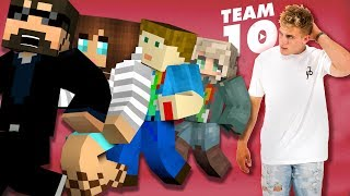 Minecraft: TEAM 10 MURDER | MODDED MINI-GAME