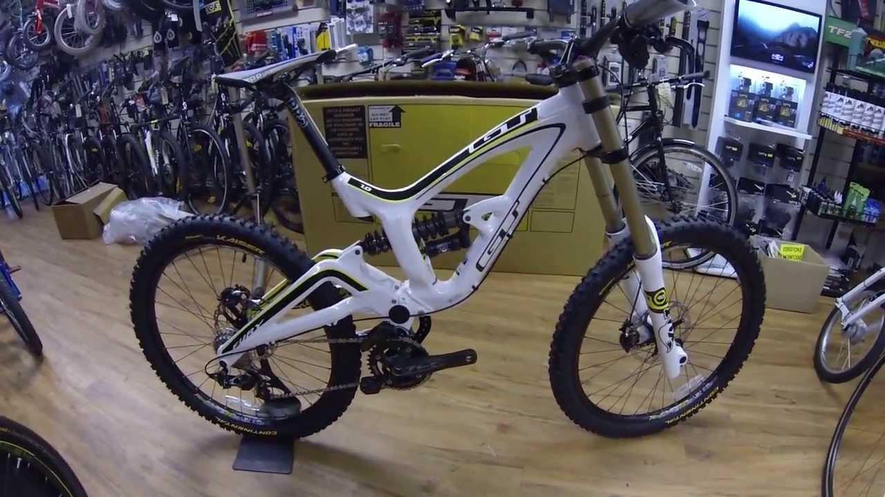 58ff89d54a5 GT Fury Al 1 downhill bike - YouTube