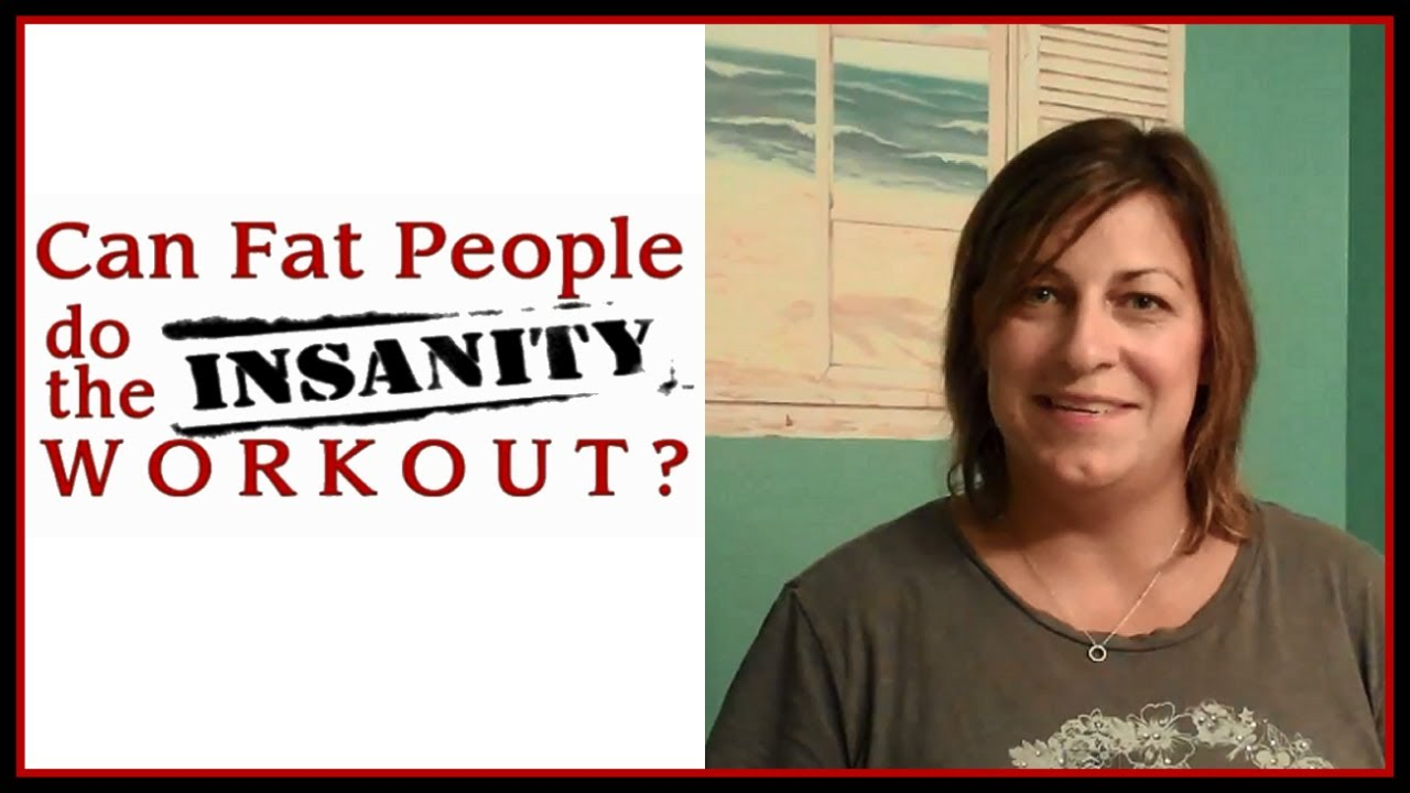 #2 CAN FAT PEOPLE DO THE INSANITY WORKOUT? - WEEK TWO RESULTS