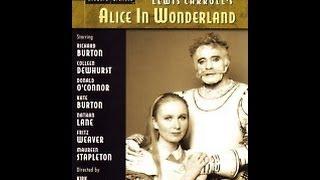 ALICE IN WONDERLAND -1983- (Richard Burton, Kate Burton)