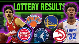 In this video, i'm giving my reactions for the 2020 nba draft lottery. golden state warriors got second pick. new york knicks fell to eighth ...