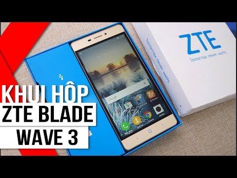 """FPT Shop - Khui hộp ZTE Blade Wave 3: """"Vô địch trong tầm giá"""""""