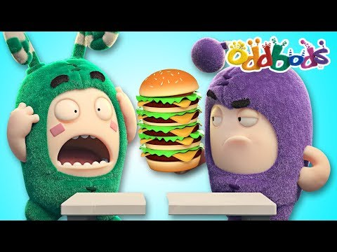 Oddbods NEW | FOOD FIASCO #5 | Funny Cartoons For Kids | The Oddbods Show